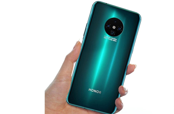 Honor 30 Series Render Lit-Up With Oreo Style Rear Camera Setup