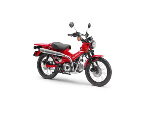 2021 Honda CT125 Production Model Revealed In Design Filings