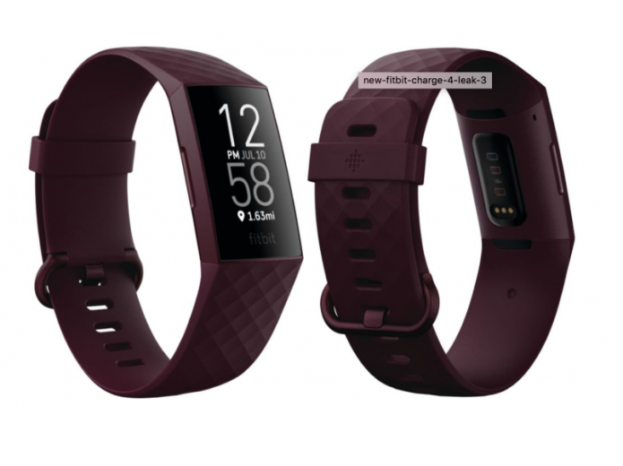 Fitbit Charge 4 breaks cover, with a very familiar look