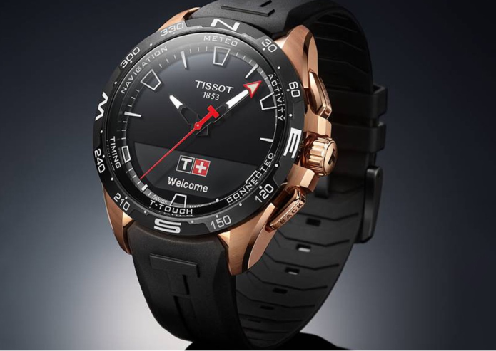 Tissot T-Touch Connect Solar hybrid is Swatch's long-awaited smartwatch