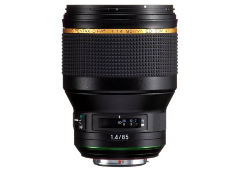 Ricoh Announces Development of Pentax HD PENTAX-D FA★ 85mm f/1.4 SDM AW Lens
