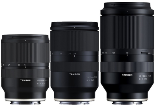 Tamron 70-180mm f/2.8 Di III VXD Lens Product Images