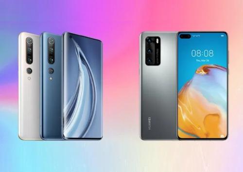 Xiaomi Mi 10 vs Huawei P40 Specs Comparison