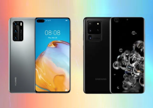 Huawei P40 Pro+ vs Samsung Galaxy S20 Ultra Specs Comparison