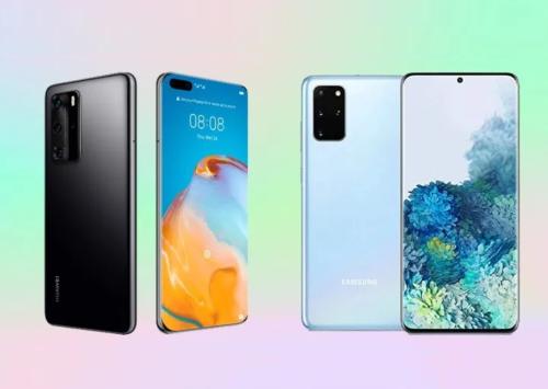 Huawei P40 Pro vs Samsung Galaxy S20+ Specs Comparison