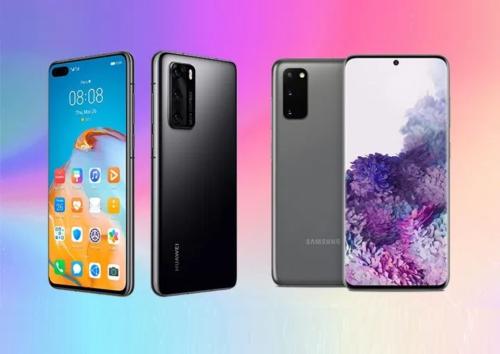 Huawei P40 vs Samsung Galaxy S20 Specs Comparison