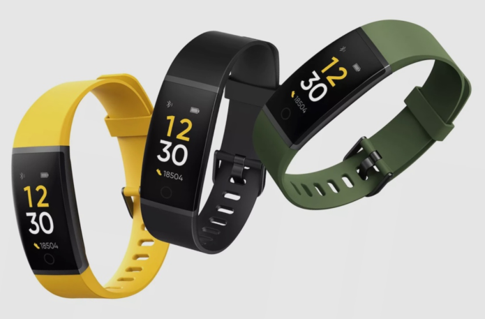 RealMe Band launches in India for just $20 – with cricket tracking