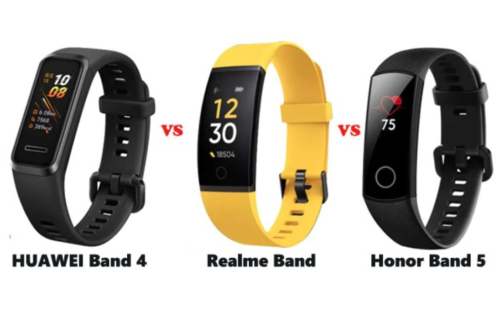 Realme Band vs Huawei Band 4 vs Honor Band 5: Which is best?