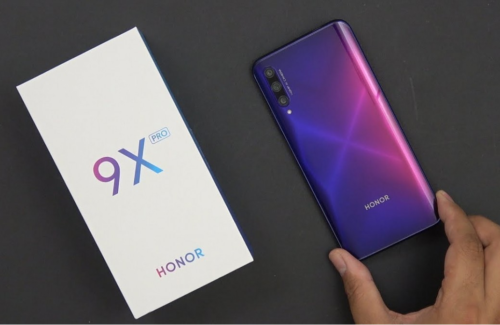 Honor 9X Pro in for review