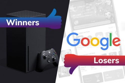 Winners and losers: The Xbox Series X wows while Google panics