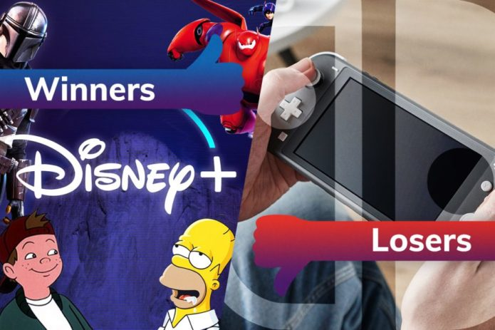 Winners and losers: Disney Plus staves off boredom while Nintendo Switch hold-outs miss out