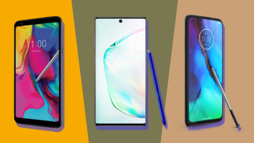 Moto G Stylus vs Samsung Galaxy Note 10 vs LG Stylo 5: The stylus phone showdown