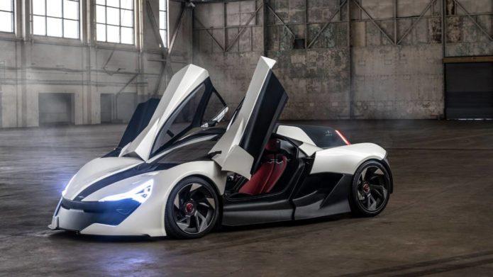 AP-0 Super Sports EV Has 650 Horsepower and lots of carbon fiber