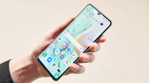 Huawei P40 Pro: we've held the phone early, but we weren't allowed to see it