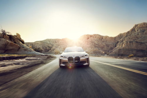 BMW's electric Concept i4 has two words for Tesla's Model 3: Watch out