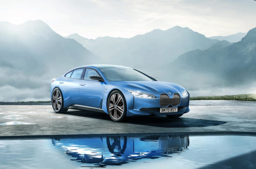 After a long wait, BMW shows off the all-electric i4 saloon