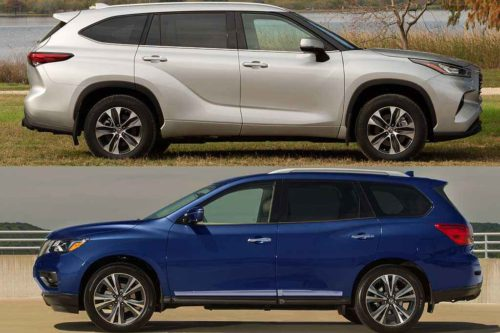 2020 Toyota Highlander vs. 2020 Nissan Pathfinder: Which Is Better?