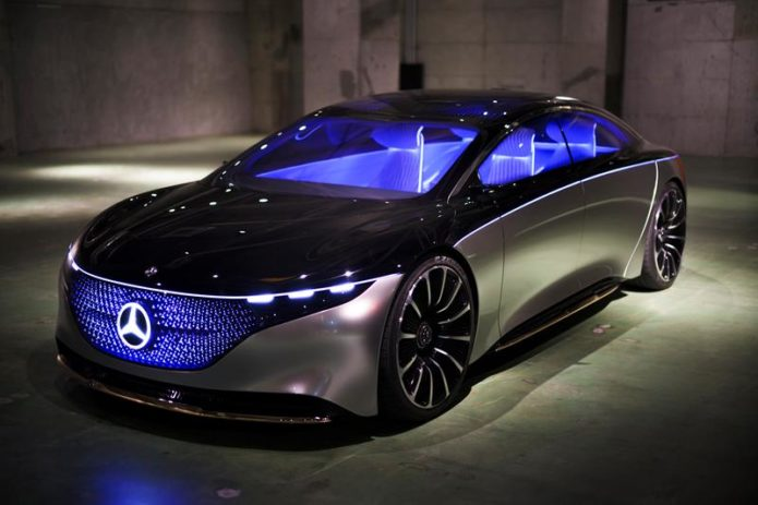 Driving the future: Mercedes-Benz Vision EQS
