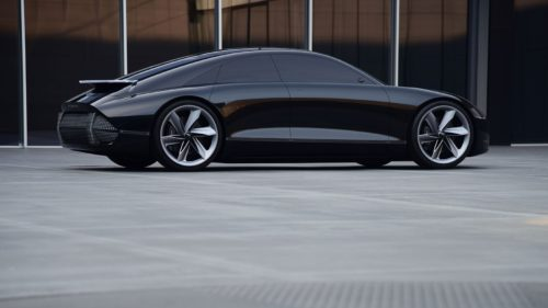 Hyundai Prophecy concept electric car swaps the steering wheel for joysticks