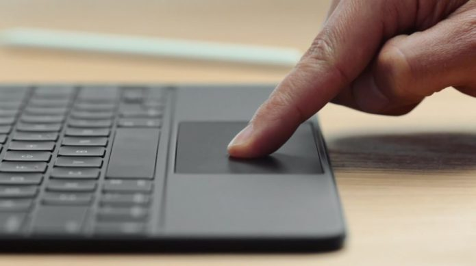 Apple demos iPad Pro Magic Keyboard trackpad – here's what it does
