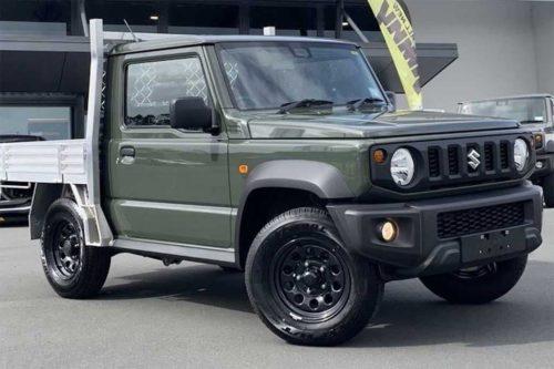 Suzuki Jimny ute emerges