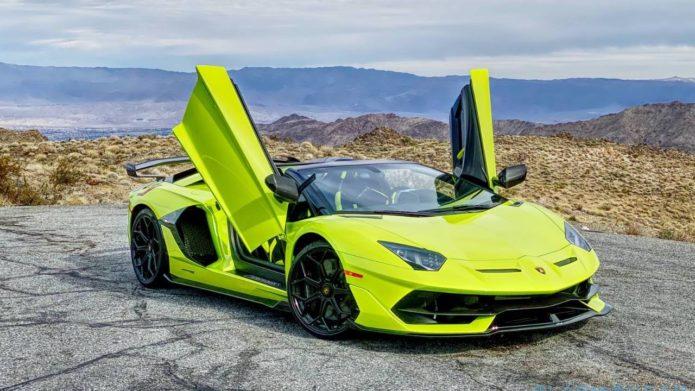 Lamborghini is recalling 26 Aventador SVJs to fix a faulty door handle