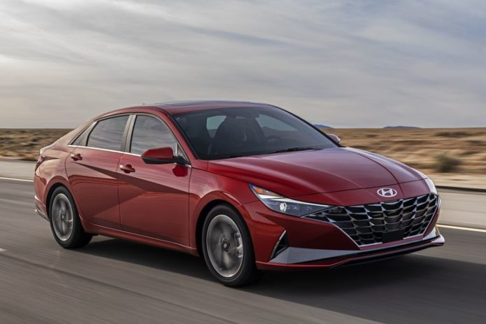 2021 Hyundai Elantra Sedan Looks Good, Adds a Hybrid Version