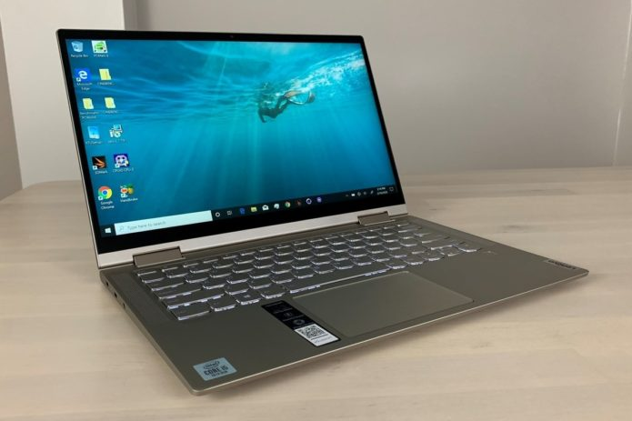 Lenovo Yoga C740 2-in-1 review: Speedy, bright, peppy, and reasonably priced