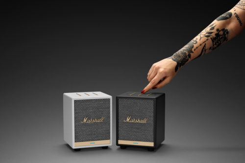 "Meet the Uxbridge Voice smart speaker: We're calling it the ""mini"" Marshall"