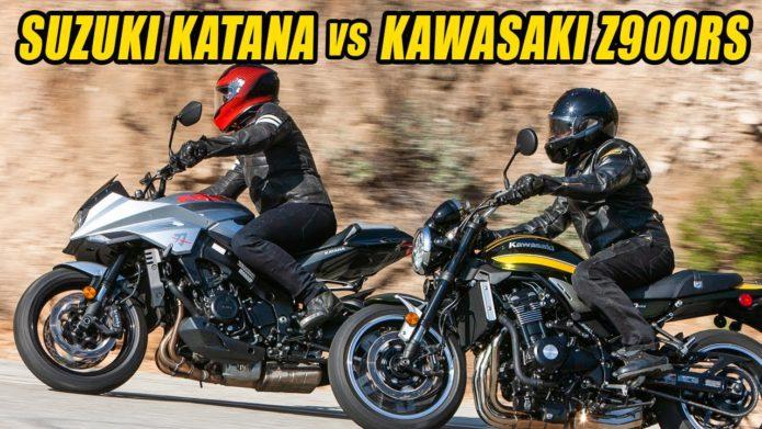 Retro Rumble Redux: Kawasaki Z900RS Vs Suzuki Katana