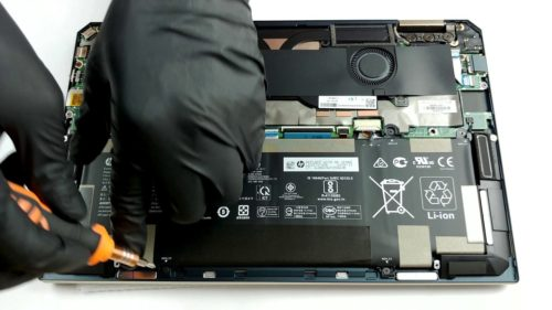 Inside HP Spectre x360 13 (13-aw0000) – disassembly and upgrade options