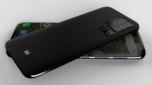 Xiaomi Mi11 Pro Concept Phone: Circle Four Lenses, Single-Hole Screen