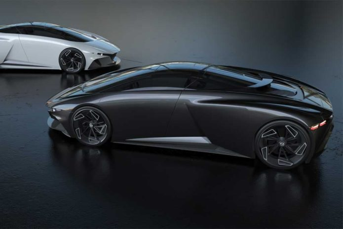Mid-engined Mazda RX-9 sports car imagined
