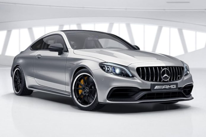 New aero-inspired Mercedes-AMG C 63 Coupe lobs