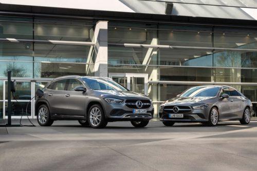 Mercedes-Benz CLA 250e, GLA 250e revealed