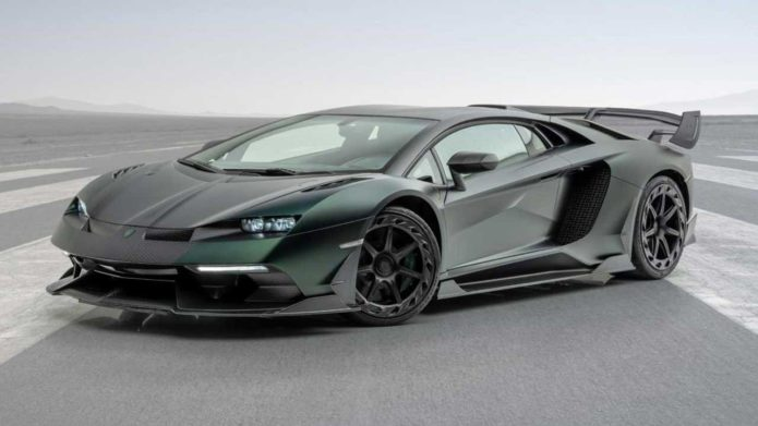 Mansory Cabrera is a hopped up Lamborghini Aventador SVJ