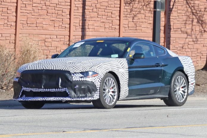 SPY PICS: Is Ford reviving the Mustang Mach 1?