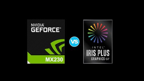 NVIDIA GeForce MX230 vs Intel Iris Plus G7 – when the latter is adequately it's an iGPU beast