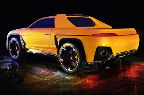 Porsche Traykan EV pick-up is radical