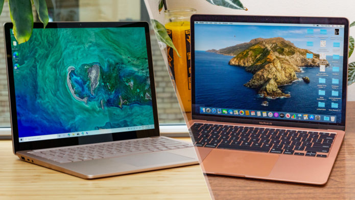 MacBook Air 2020 vs. Surface Laptop 3 face-off: Which is best?