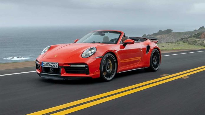 2021 Porsche 911 Turbo S Sport Design body kit unveiled