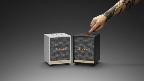 Marshall adds the compact Uxbridge Voice to its smart speaker lineup