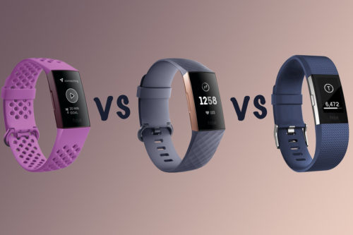 Fitbit Charge 4 vs Charge 3 vs Charge 2: What's the difference?