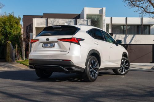Lexus NX 450h+ to plug-in here in 2021