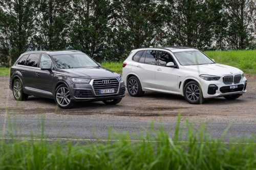 2020 Audi Q7 50 TDI v BMW X5 xDrive30d Comparison