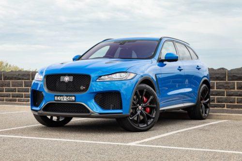 2020 Jaguar F-Pace SVR Review: Quick Spin
