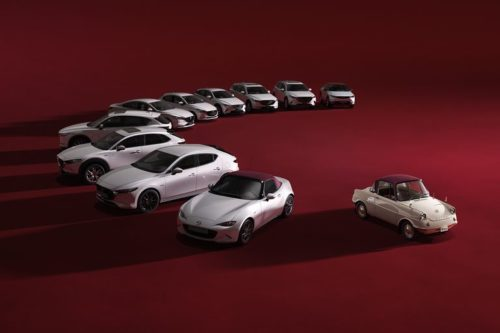 Mazda Celebrates 100th Anniversary with Subtly Cool Special Editions
