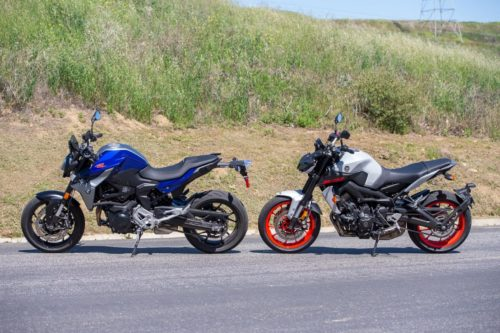 2020 BMW F 900 R VS. YAMAHA MT-09 COMPARISON: FUN UNDER $9K