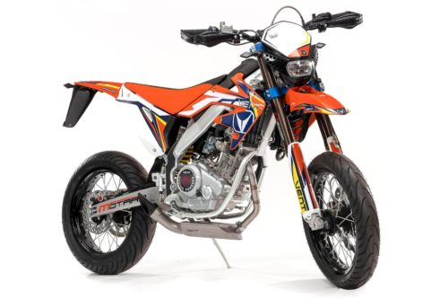 2020 VENT DERAPAGE RR 125 FIRST LOOK: ITALIAN SUPERMOTO