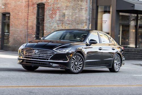 2020 Hyundai Sonata Hybrid Combines Style, Tech, and Fuel Efficiency